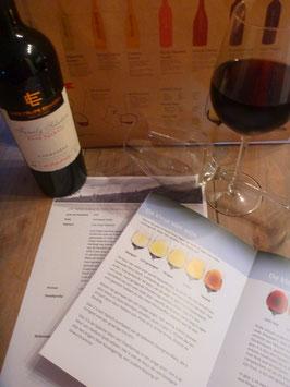 Proef rode of witte wijn, per 5 stuks