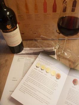 Proef rode of witte wijn, per drie stuks