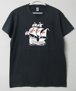 T-shirt Nau Portuguesa | Cor Cinza Rato