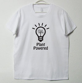 Plant Powered T-shirt | White Colour
