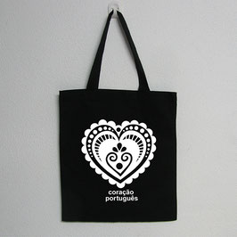 Portuguese Heart Bag | Black Colour