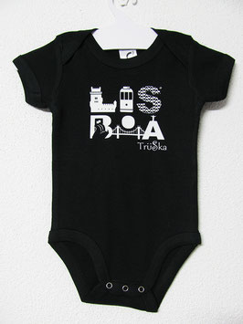 Lisboa Onesie | Black Colour