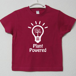 T-shirt Plant Powered | Cor Fúcsia