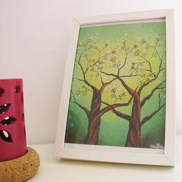Illustration Tree Love