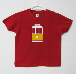 28 Tram T-shirt | Red Colour