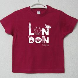 T-shirt London | Cor Fúcsia