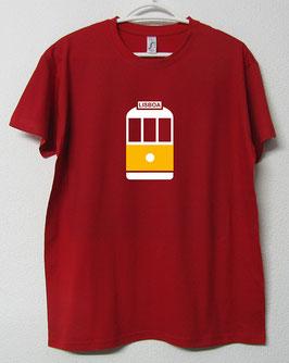 T-shirt Eléctrico 28 | Cor Vermelho