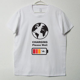 Charging T-shirt | White Colour