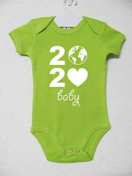 2020 Onesie | Lime Colour