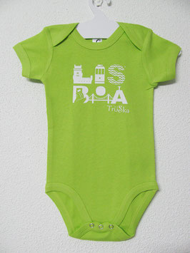 Lisboa Onesie | Lime Colour