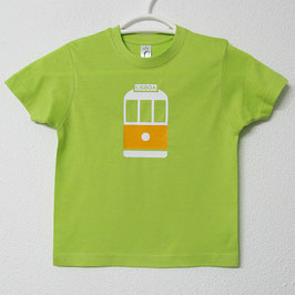 28 Tram T-shirt | Lime Colour
