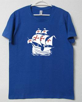T-shirt Nau Portuguesa | Cor Azul Royal
