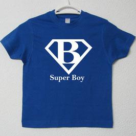 T-shirt Super Boy | Cor Azul Royal
