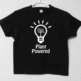 Plant Powered T-shirt | Black Colour
