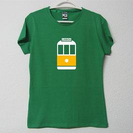 Tram 28 Woman T-shirt | Green Colour