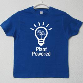Plant Powered T-shirt | Royal Blue Colour
