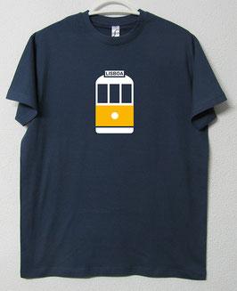 28 Tram T-shirt | Blue Denim Colour