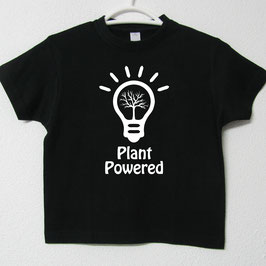 T-shirt Plant Powered | Cor Preto