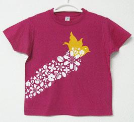 T-shirt Bird | Cor Fúcsia