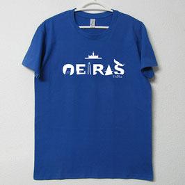 T-shirt Oeiras | Cor Azul Royal