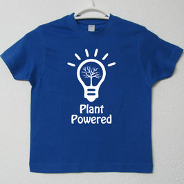 T-shirt Plant Powered | Cor Azul Royal