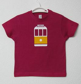 T-shirt Eléctrico 28 | Cor Fúcsia