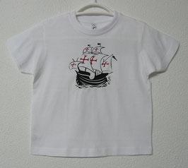 Portuguese Nau T-shirt | White Colour