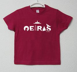 T-shirt Oeiras | Cor Fúcsia