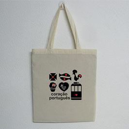 Portuguese Symbols Bag | Natural Colour