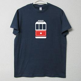 T-shirt Eléctrico de Sintra | Cor Azul Denim