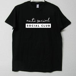 T-shirt Anti Social | Black Colour