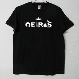 T-shirt Oeiras| Cor Preto