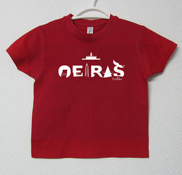 T-shirt Oeiras | Cor Vermelho