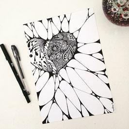 Ilustração Amor Delicado