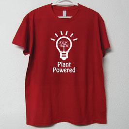 T-shirt Plant Powered | Cor Vermelho