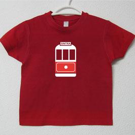 Sintra Tram T-shirt | Red Colour