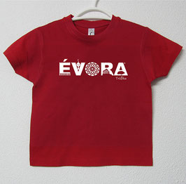 Évora T-shirt | Red Colour