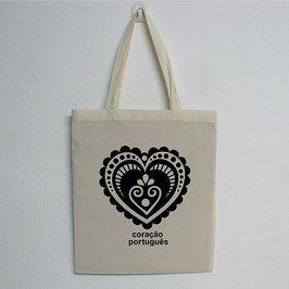 Portuguese Heart Bag | Natural Colour