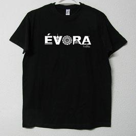T-shirt Évora | Cor Preto