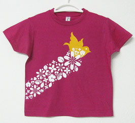 Bird T-shirt | Fucsia Colour