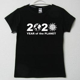T-shirt Mulher 2020   Cor Preto