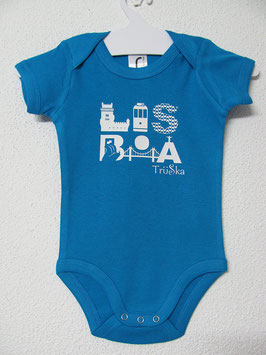 Lisboa Onesie  | Aqua Colour