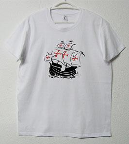 T-shirt Nau Portuguesa | Cor Branco