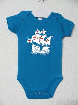Babygrow Nau Portuguesa | Cor Aqua