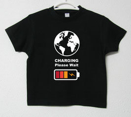 T-shirt Charging | Cor Preto