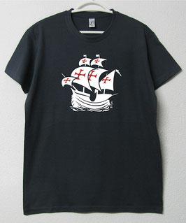 Portuguese Nau T-shirt | Gray mouse Colour