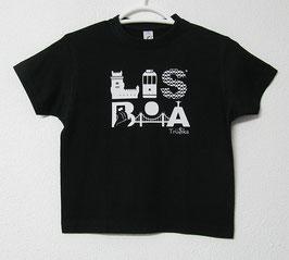 T-shirt Lisboa | Cor Preto