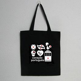 Saco Simbolos Portugueses | Cor Preto