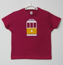28 Tram T-shirt | Fucsia Colour
