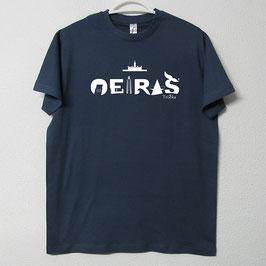 Oeiras T-shirt | Blue Denim Colour